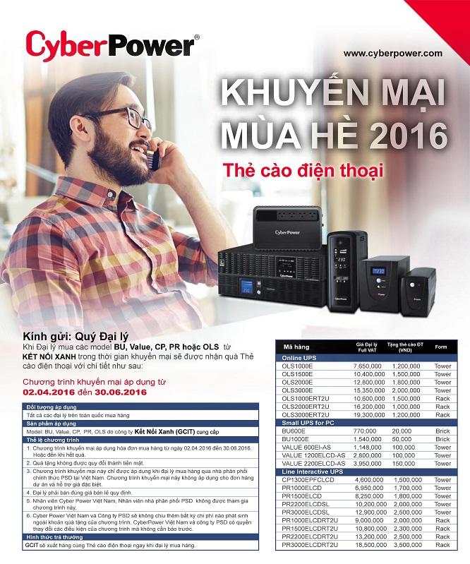 khuyen mai bo luu dien ups CYBERPOWER_GCIT Q2-2016